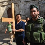 Christians caught in the middle in Jerusalem