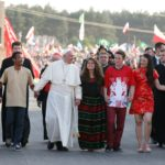 Don't tuck life away, take risks, pope tells young people