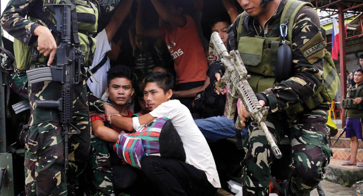 Philippine religious superiors call for end to martial law in Mindanao