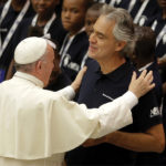 Pope leads prayers for victims of trafficking