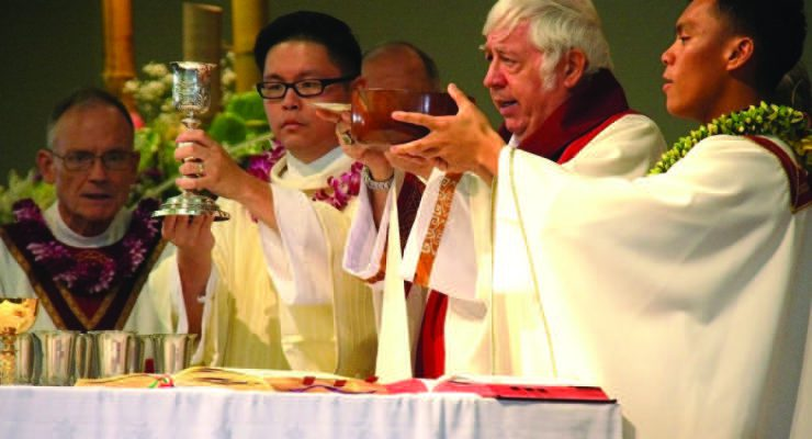 A new priest for the Sacred Hearts