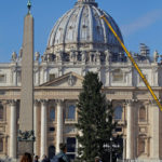 Nativity scene, Christmas tree are visible signs of God's compassion