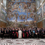 Pope Francis to diplomats: World peace depends on right to life, disarmament