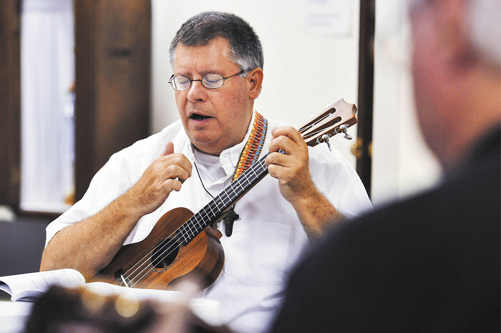 The Ukulelevangelist Tennessee Priest Spreads The Joy Of Playing